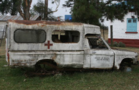 Old ambulance